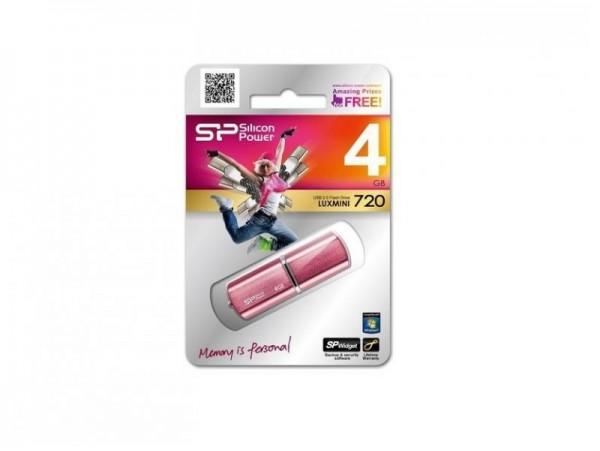 Флешка USB Silicon Power LuxMini 720 4ГБ