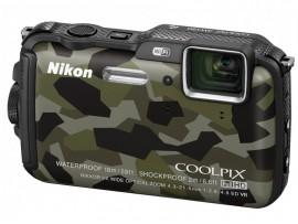 Цифрова фотокамера Nikon Coolpix AW120 Camouflage