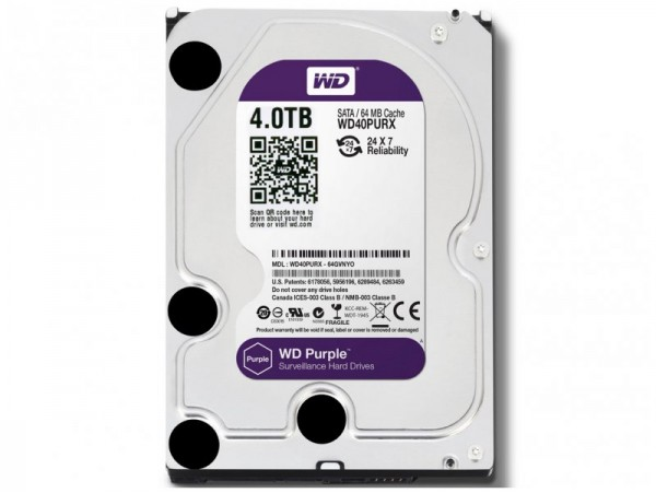 Жорсткий диск Western Digital Purple (WD40PURX)
