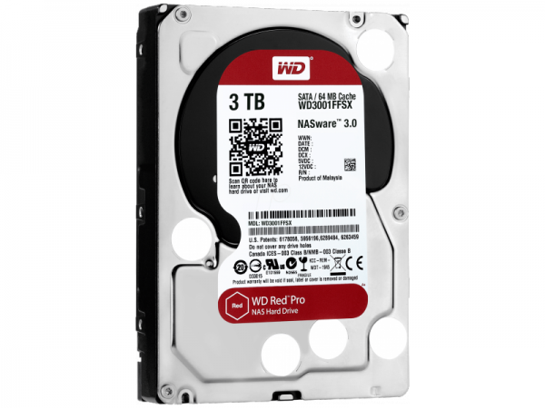 Жорсткий диск Western Digital Red Pro (WD3001FFSX)