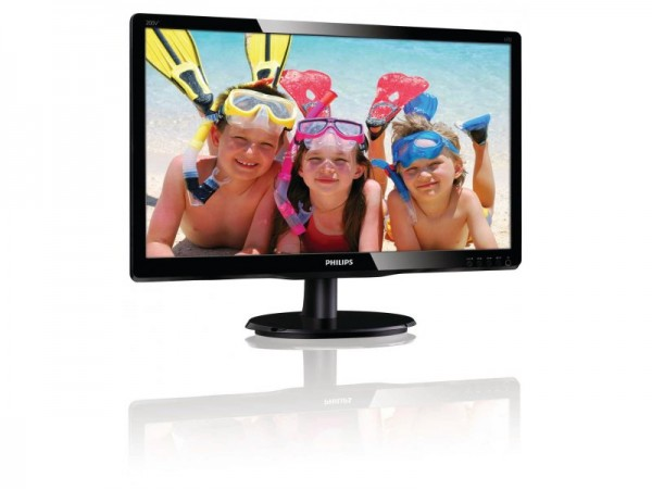 Монітор Philips 200V4LSB2/62 (200V4LSB2/62) чорний