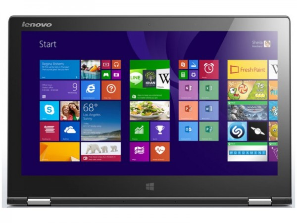 Ноутбук Lenovo IdeaPad Yoga 2 (59-422686) сірий